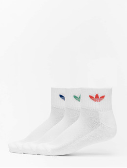 adidas Originals Socks Mid Ankle white