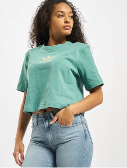 adidas Originals T-Shirt Oversize  turquoise