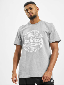 adidas Performance T-Shirt CRCLD GRFX gray