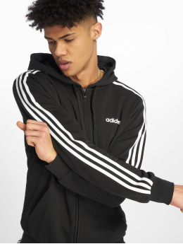 adidas Performance Zip Hoodie 3S black