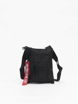 Alpha Industries Bag Crew Messenger black