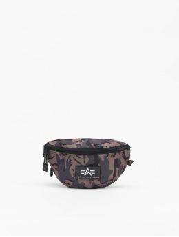 Alpha Industries Bag Rubber Print black