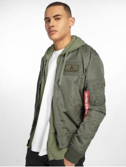 Alpha Industries Bomber jacket Ma-1 TT Custom green