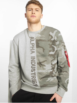 Alpha Industries Pullover Camo Half camouflage