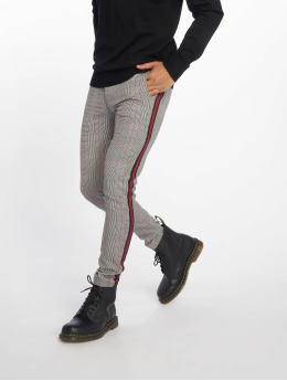 Bangastic Chino pants Check black