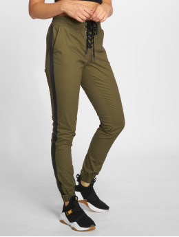 Bisous Project Sweat Pant Stripon khaki