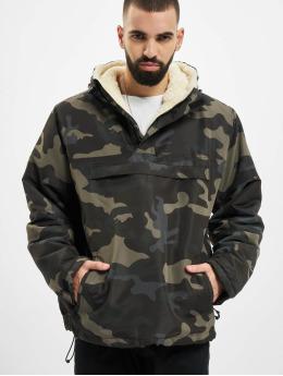 Brandit Lightweight Jacket Sherpa Windbreaker  camouflage
