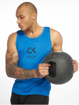 Calvin Klein Performance Sports Tanks Logo blue