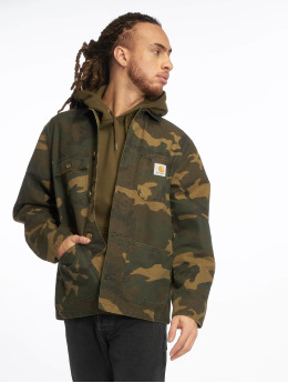 Carhartt WIP Lightweight Jacket Michigan Coat camouflage