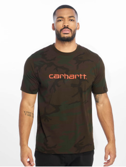 Carhartt WIP T-Shirt WIP Script camouflage