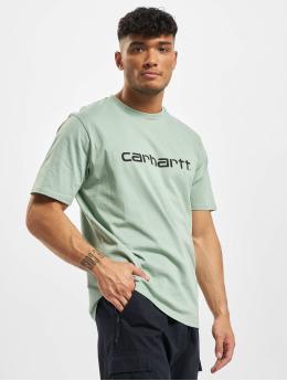 Carhartt WIP T-Shirt Script  green