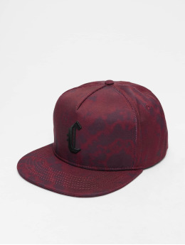 Cayler & Sons Snapback Cap Blackletter red