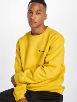 Champion Legacy Pullover little Logo yellow