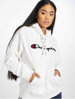 Champion Rochester Hoodie Patch white