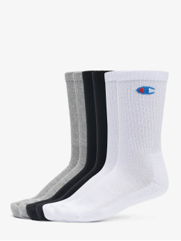 Champion Underwear Socks Y08qg X6 Crew 6er-Pack gray