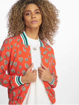 Charming Girl Lightweight Jacket Dosty red