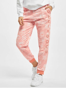 Dangerous DNGRS Sweat Pant Hard Bullet orange