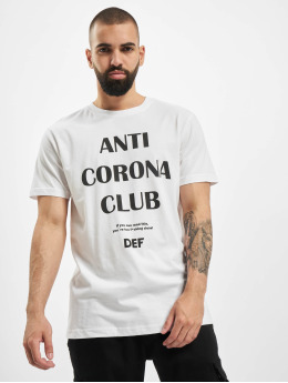 DEF T-Shirt Anti Corona white
