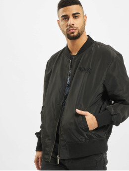 Deus Maximus Bomber jacket Phantom  black