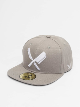 Distorted People Snapback Cap Blades olive