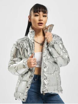 Eight2Nine Puffer Jacket Shiny silver