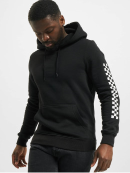 Famous Stars and Straps Hoodie Checker Badge black