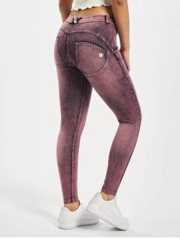 Freddy Slim Fit Jeans 7/8 Denim Marble Rinse  purple