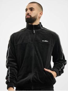 Fubu Lightweight Jacket Fb Corporate Velours black