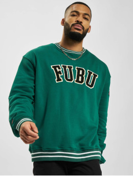 Fubu Pullover College Ssl green