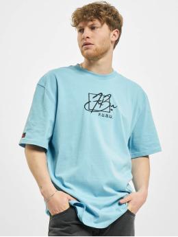 Fubu T-Shirt Script  blue
