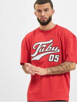 Fubu T-Shirt Varsity  red
