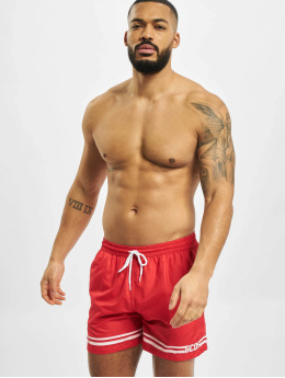 GCDS Badeshorts Classic red