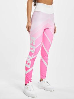 GCDS Leggings/Treggings Faded pink