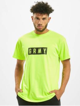 Grimey Wear T-Shirt Flying Saucer yellow