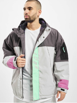 Grimey Wear Winter Jacket Mysterious Vibes gray