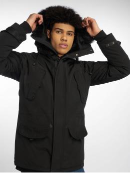 Helvetica Winter Jacket Expedition Dark Edition black