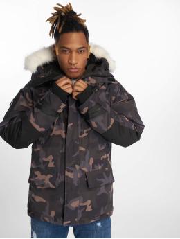 Helvetica Winter Jacket Artic camouflage