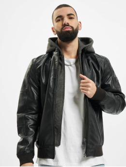Jack & Jones Bomber jacket jcoStefan Pu black