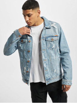 Jack & Jones Denim Jacket Jjijean Jjjacket Cj 183 blue