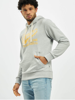 Jack & Jones Hoodie jprTravis Blu.  gray