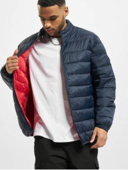 Jack & Jones Puffer Jacket jjeMagic Collar Noos blue