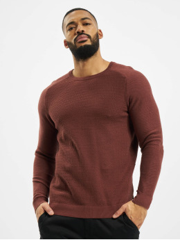 Jack & Jones Pullover jprBlaadam Knit brown
