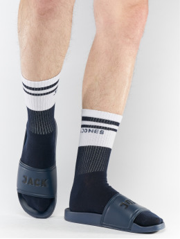 Jack & Jones jfwFlip Sock Bundle Sandals Navy Blazer