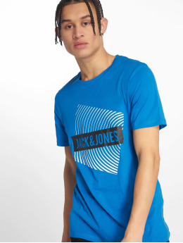 Jack & Jones T-Shirt jcoBooster blue
