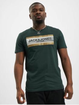 Jack & Jones T-Shirt jcoBooster green