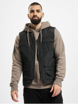 Jack & Jones Vest jcoTech Utility black