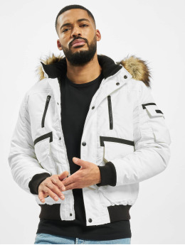 Jack & Jones Winter Jacket jcoGlobe white