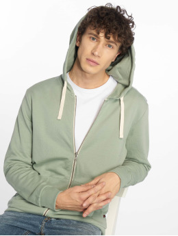 Jack & Jones Zip Hoodie jjeHolmen green