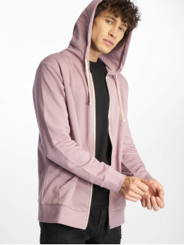 Jack & Jones Zip Hoodie jjeHolmen purple
