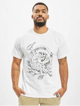 Joker T-Shirt Pancho white